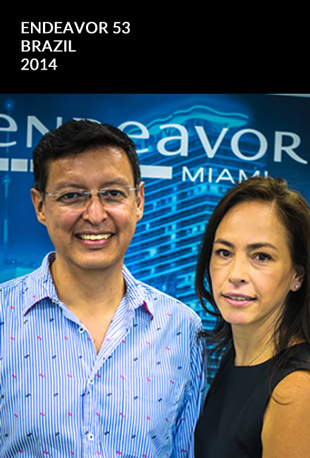 Marcela Henao and Lionel Carrasco 2014 Endeavor 53 Brazil